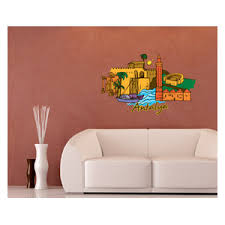 Famous City Vinyl Wall Decal Famouscityuscolor011 Contemporary Wall Decals By Vinyl Disorder Inc