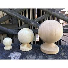 Ball Finial Pictured With Post Cap Hartwells Fencing