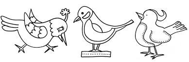 Kleurplaten Vogels Crea Met Kids