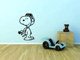 Charlie Brown Snoopy Light Switch Wall Decal Transfer Sticker