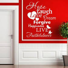 Hope Laugh Live Wall Decal Quote Style And Apply