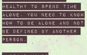 True words. I'm a loner at heart, never mind being | Quotes at Repinned.net