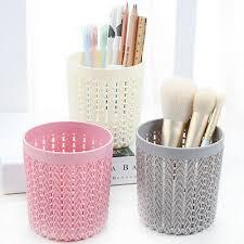 cosmetic makeup brush holder box pen