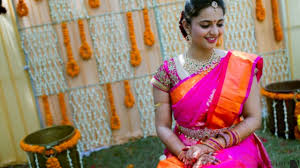 makeup trends for south indian bride