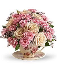 Bouquet Tasse de thé anglais de Teleflora | Teleflora