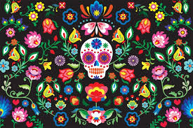 fabulous day of the dead wallpaper