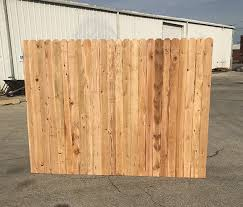 Cedar Fence Panels 1x4x6 For Sale Okc Oklahoma Lumber And Supply