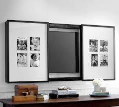 gallery frame tv cover in black