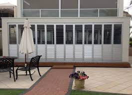 multifold aluminum shutters have the