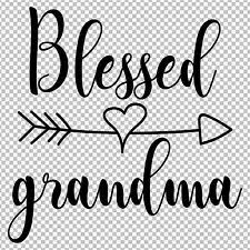 Blessed Grandma Vinyl Decal Love Arrow Sticker Car Truck Laptop Tumbler For Sale Online Ebay