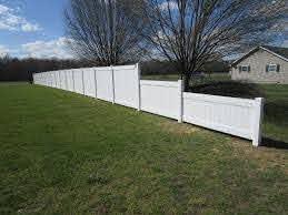 Vinyl Forrest Fencing