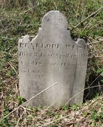 Penelope Hill West (1807-1826) - Find A Grave Memorial