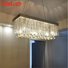 contemporary pendant lamps crystal led