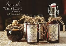 recipe for homemade vanilla extract
