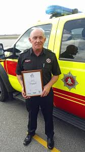 AFM Duane Stewart recently received his... - Falkland Islands Airport Fire  & Rescue Service | Facebook