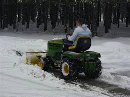 lawn tractor snow plow bob vila
