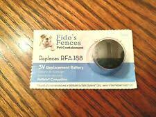 Fido S Fences Ff 67 Replacement Battery For Petsafe 10 Pack For Sale Online Ebay