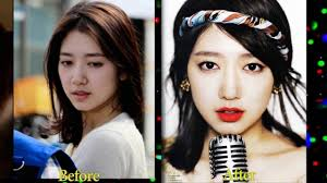 korean celebrities before and after