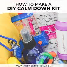 to put in a calm down kit for kids