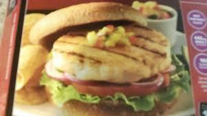 grubbing on some mahi mahi burgers
