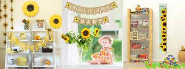 17 adorable sunflower nursery decor