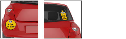 Fancy Mobility Baby On Board Kids In Car Stickers Reflective Vinyl Signs For Car Suv Truck Vehicles Window Or Bumper Auto Accessories Baby Shower Gift For Family Road Trip Essential