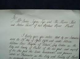 Mortgage Indenture Letter 1911 Anne Pye Kate Powell 142 Redland Road  Bristol | eBay