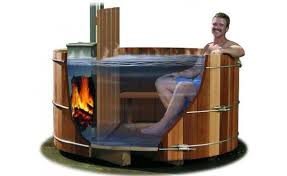 how to build a wood fired hot tub the