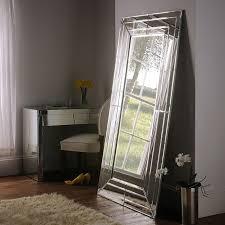 contemporary floor standing mirror