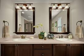 toll brothers dual vanities framed