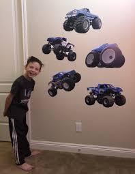 Set Of 5 Bigfoot 4x4 Monster Truck Wall Decals 12 Tall Trucks Word Factory Design