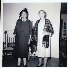 Nola Smith Risley and her sister Walsie Smith O'Neil