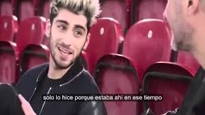 zayn malik hablando sobre one direction