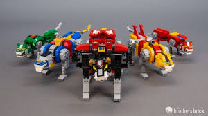 Lego S Largest Ever Ideas Set 21311 Voltron Review Video The Brothers Brick The Brothers Brick