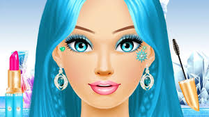 ice queen princess makeup spa beauty