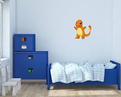 Charmander Pokemon Wall Decals Vinyl Sticker For Room Home Bedroom Ebay