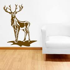 Deer Wall Decal Style And Apply