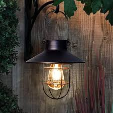 solar lantern outdoor hanging light