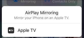 ipad screen on your apple tv