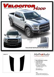 Ford F 150 Raptor Stripes 3m Decals Velocitor Hood Vinyl Graphics 2018 2019 2020 Ebay