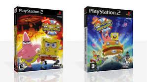 spongebob squarepants ps2 di ricambio