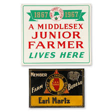 Lot Detail - Agricultural Tin Litho Signs