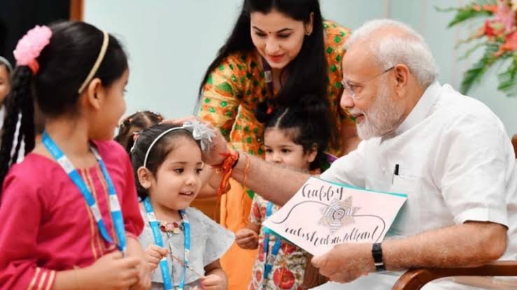 """Image result for Modi with Children"""""""