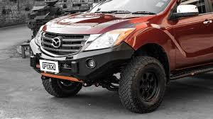 Piak Non Loop premium winch Bar -Mazda BT50 2011+ - PIAK