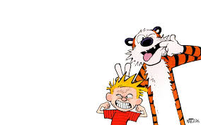 calvin and hobbes puter wallpaper on