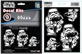Fanwraps The Force Awakens Passenger Series First Order Stormtrooper Perforated Window Decal Bumper Stickers Decals Magnets