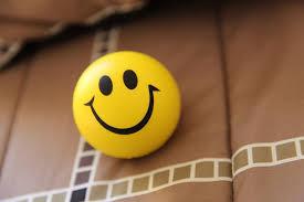 anthropomorphic smiley face smiling