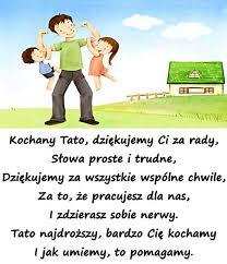 Życzenia ma Dzień Ojca - Tato najdroższy, bardzo Cię kochamy ...