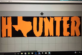 Texas Haunter Car Decal 12x3 Car Decal Etsy