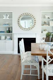 dining room fireplace transitional